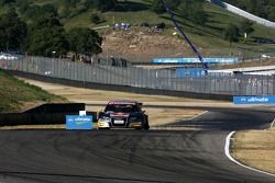 Martin Tomczyk, Audi Sport Team Abt Sportsline, Audi A4 DTM, limping back with a flat left rear tyre