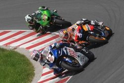 Colin Edwards, Yamaha Factory Racing, Nicky Hayden, Repsol Honda Team, Anthony West, Kawasaki Racing