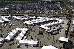 Fans de Chicagoland Speedway