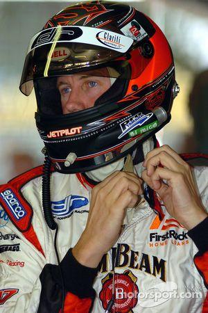 Steven Johnson prepares for qualifying