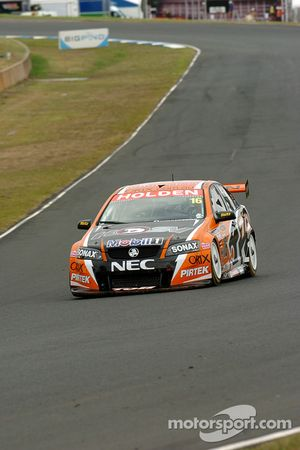 Garth Tander on his way to 6th