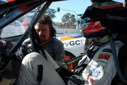 A relaxed Fabian Coulthard
