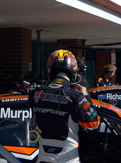 Greg Murphy gets ready