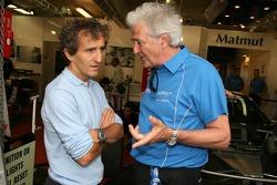 Alain Prost et Hugues de Chaunac