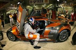 #86 Spyker Squadron Spyker C8 Spyder: Jarek Janis, Mike Hezemans, Jonny Kane