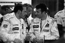 Jacques Villeneuve et Nicolas Minassian