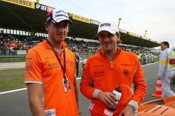 Адриан Сутиль, Spyker F1 Team и Маркус Винкельхок, Spyker F1 Team