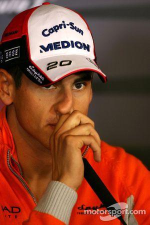 Пресс-конференция FIA: Адриан Сутиль, Spyker F1 Team