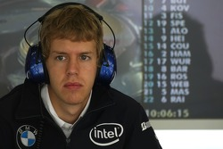 Себастьян Феттель, Test Driver, BMW Sauber F1 Team