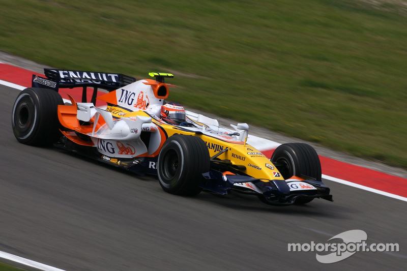 Heikki Kovalainen, Renault R27, 2007