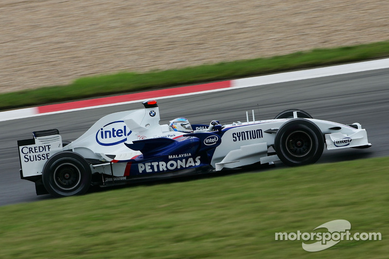 #9: Nick Heidfeld, BMW Sauber F1 Team, F1.07