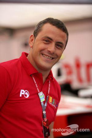 Paolo Coloni directeur de l'équipe Petrol Ofisi FMS international
