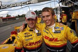Polesitter #7 Penske Racing, Porsche RS Spyder: Romain Dumas, Timo Bernhard