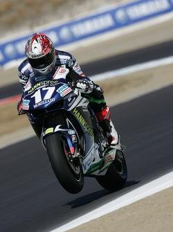 Мигель Дюамель на мотоцикле Honda Gresini MotoGP