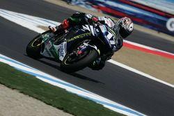 Miguel Duhamel sur une Moto GP Honda Gresini