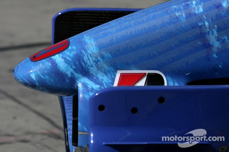 Переднє антикрило Honda Racing F1 Team, RA107