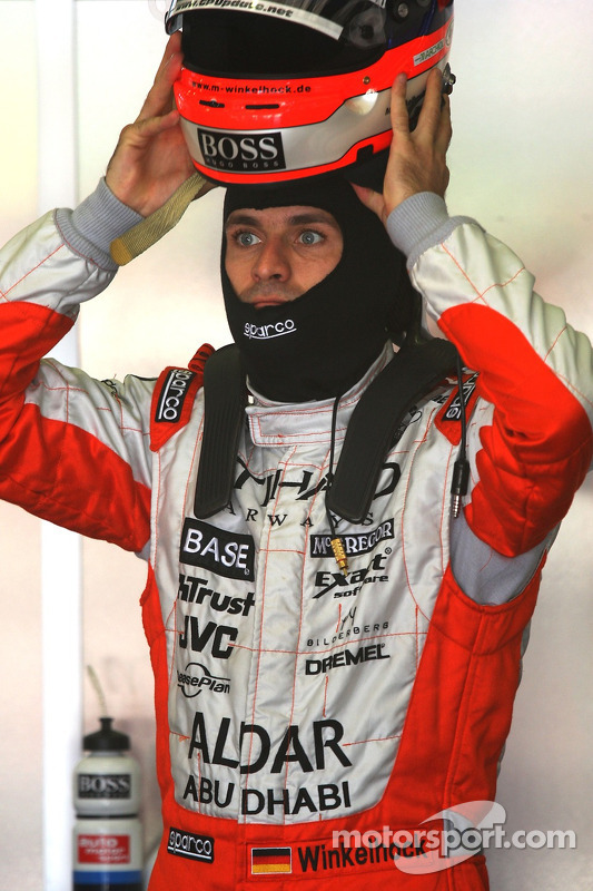 Маркус Вінкельхок, Spyker F1 Team