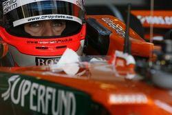 Маркус Винкельхок, Test Driver, Spyker F1 Team, F8-VII