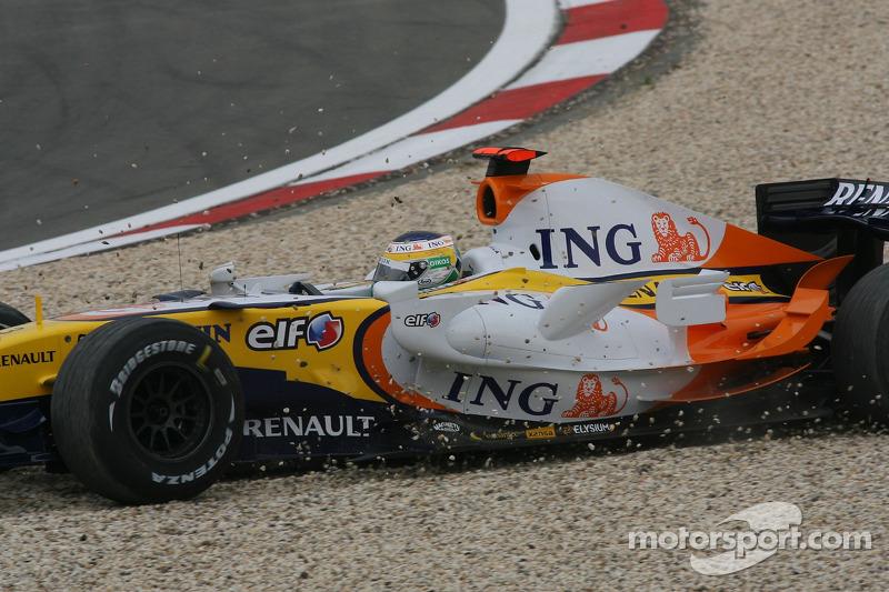 Джанкарло Физикелла, Renault F1 Team