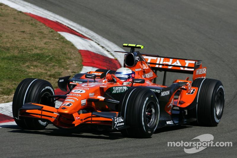 2007: Spyker F8-VII