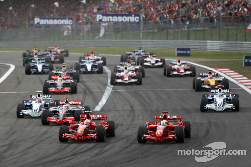 In qualifying, Ferrari's Kimi Raikkonen took pole position and..