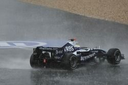 Nico Rosberg, WilliamsF1 Team, FW29, trompea y se sale