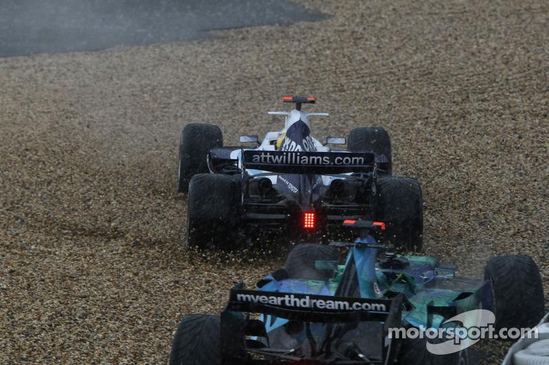 Nico Rosberg, WilliamsF1 Team, FW29, spins off