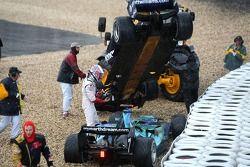Nico Rosberg, WilliamsF1 Team, FW29, Jenson Button, Honda Racing F1 Team, RA107