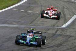 Rubens Barrichello, Honda Racing F1 Team, RA107 y Takuma Sato, Super Aguri F1, SA07