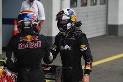 Mark Webber, Red Bull Racing y David Coulthard, Red Bull Racing