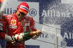 Podio: Felipe Massa