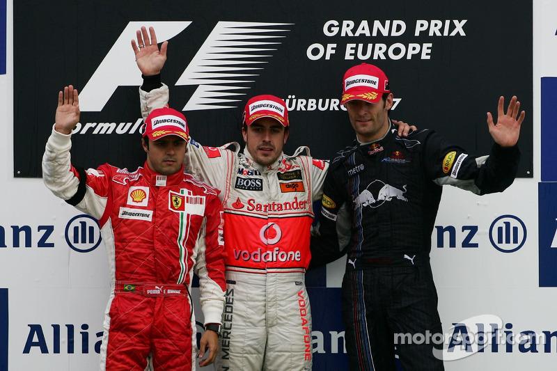 O GP da Europa esquentou a temporada de 2007, que ainda teria o caso de espionagem entre Ferrari e McLaren, a briga de Alonso na McLaren e Kimi sendo campeão por um ponto à frente de Hamilton e Alonso.