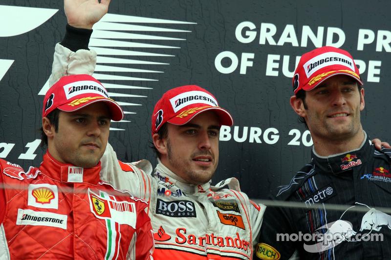 46- Fernando Alonso, 1º en el GP de Europa 2007