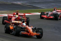 Маркус Винкельхок, Spyker F1 Team, Фелипе Масса, Scuderia Ferrari, Фернандо Алонсо, McLaren Mercedes