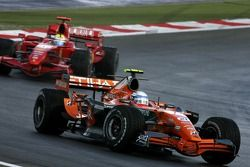 Маркус Винкельхок, Spyker F1 Team, Фелипе Масса, Scuderia Ferrari