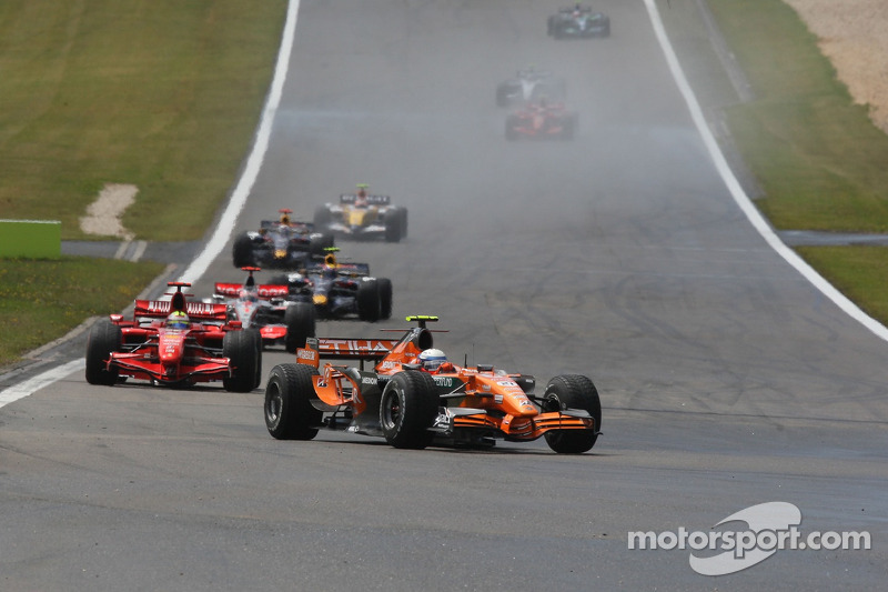 Маркус Вінкельхок, Driver, Spyker F1 Team