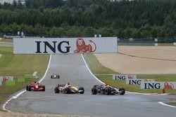 David Coulthard, Red Bull Racing, Giancarlo Fisichella, Renault F1 Team, Kimi Raikkonen, Scuderia Fe
