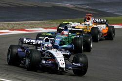 Alexander Wurz, Williams F1 Team, Rubens Barrichello, Honda Racing F1 Team, Giancarlo Fisichella, Re