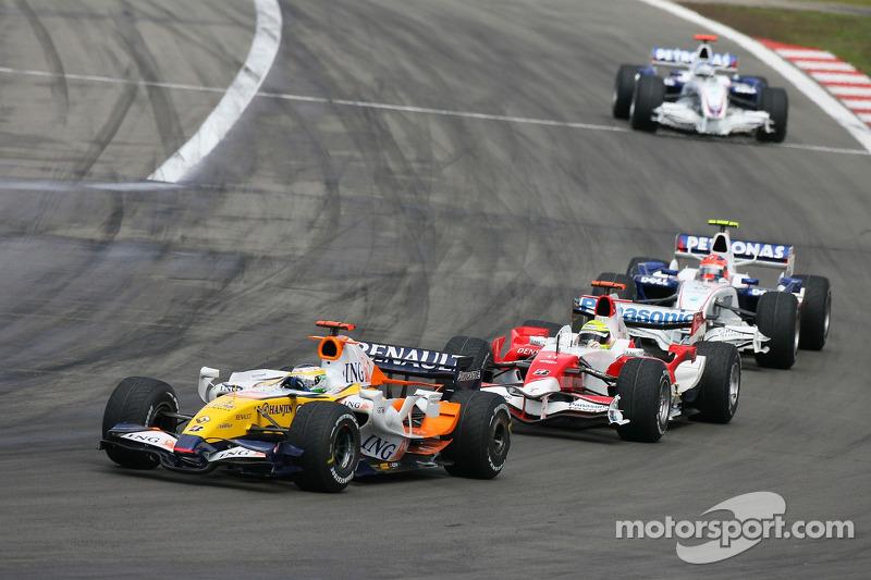 Giancarlo Fisichella, Renault F1 Team R27