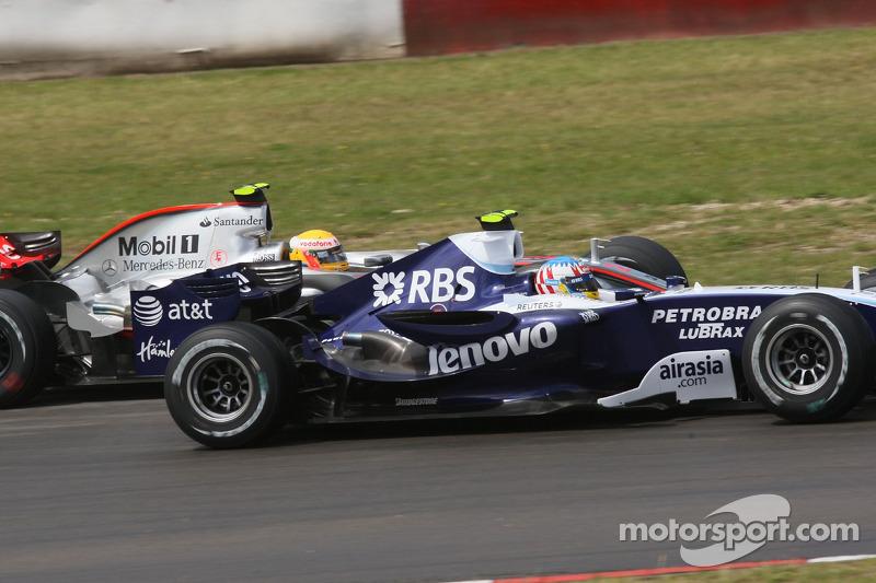 Льюіс Хемілтон, McLaren Mercedes, Алекс Вурц, Williams F1 Team