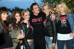 Quentin Tarantino, Regisseur, mit Formula Unas