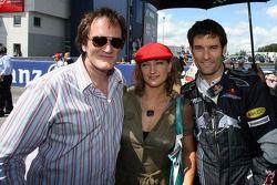 Квентин Тарантино, американский режиссер, Зоуи Белл, актриса, Марк Уэббер, Red Bull Racing