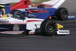 Bataille entre Lucas di Grassi et Timo Glock pour la position