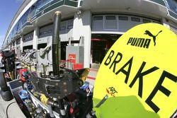 RT Grand Prix équipement d'arrêt au stand