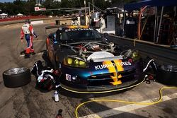 #13 Woodhouse Performance Dodge Viper: Cindi Lux, Stan Wilson dans les stands