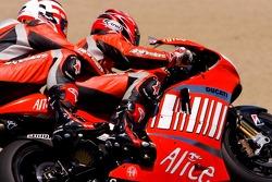 Рэнди Мамола тестирует двухместный мотоцикл