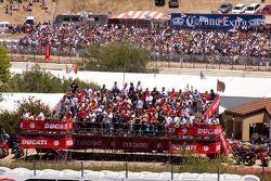 Crowd on Ducati Island