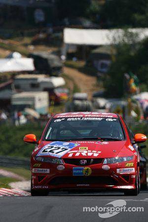 #227 Honda Civic Type-R: Daniela Schmid, Anja Wassertheurer