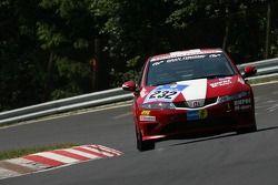 #232 Christoph Dupré Honda Civic Type-R: Claus Dupré, Christoph Dupré, Manuel Lauck