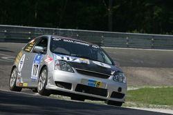 #117 Arndt Hallmanns Honda Civic Type-R: Arndt Hallmanns, Thomas Frank, Eric Freichels, Michael Klotz